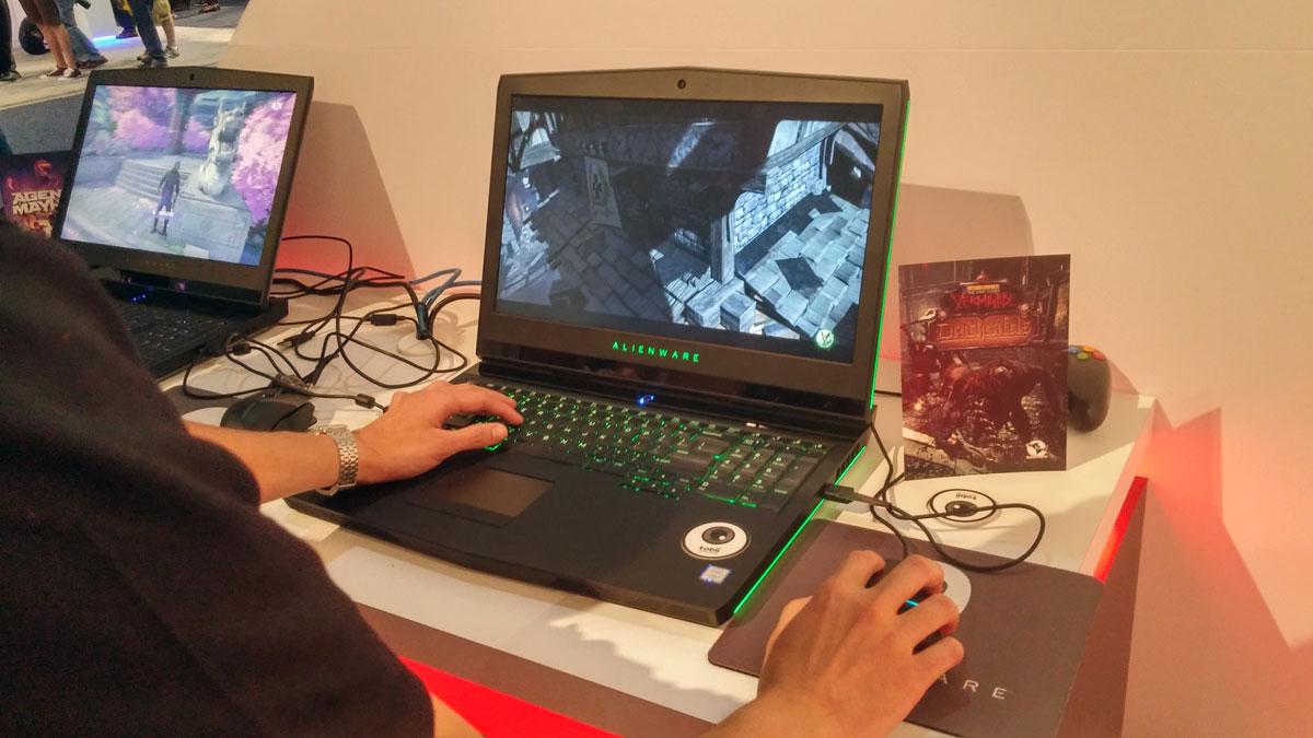 Vermintide spelas på en Alienware