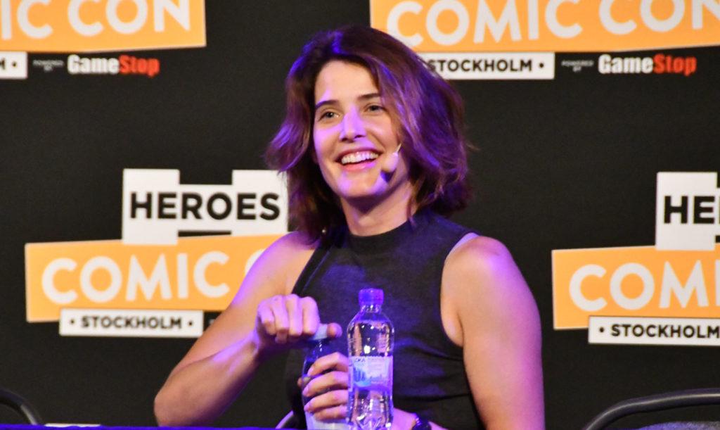 Cobie Smulders Comic-Con Stockholm
