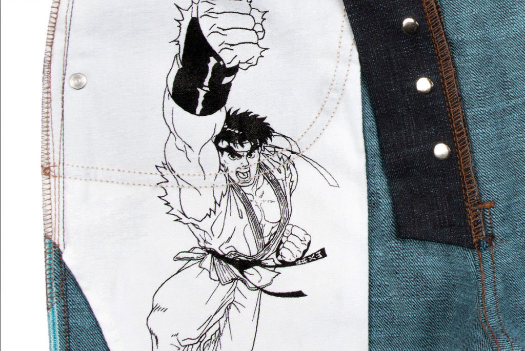 Streetfighter jeans capcom