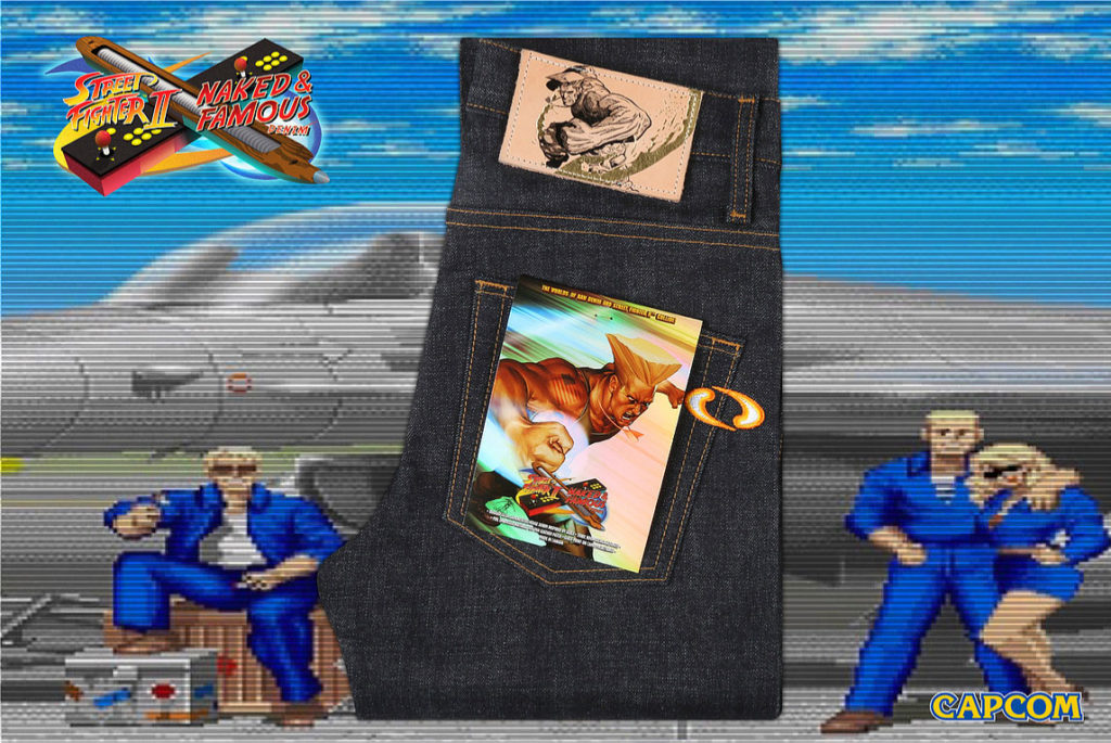 Streetfighter jeans capcom