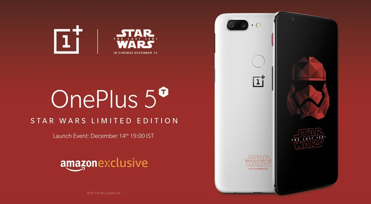 one plus 5t star wars