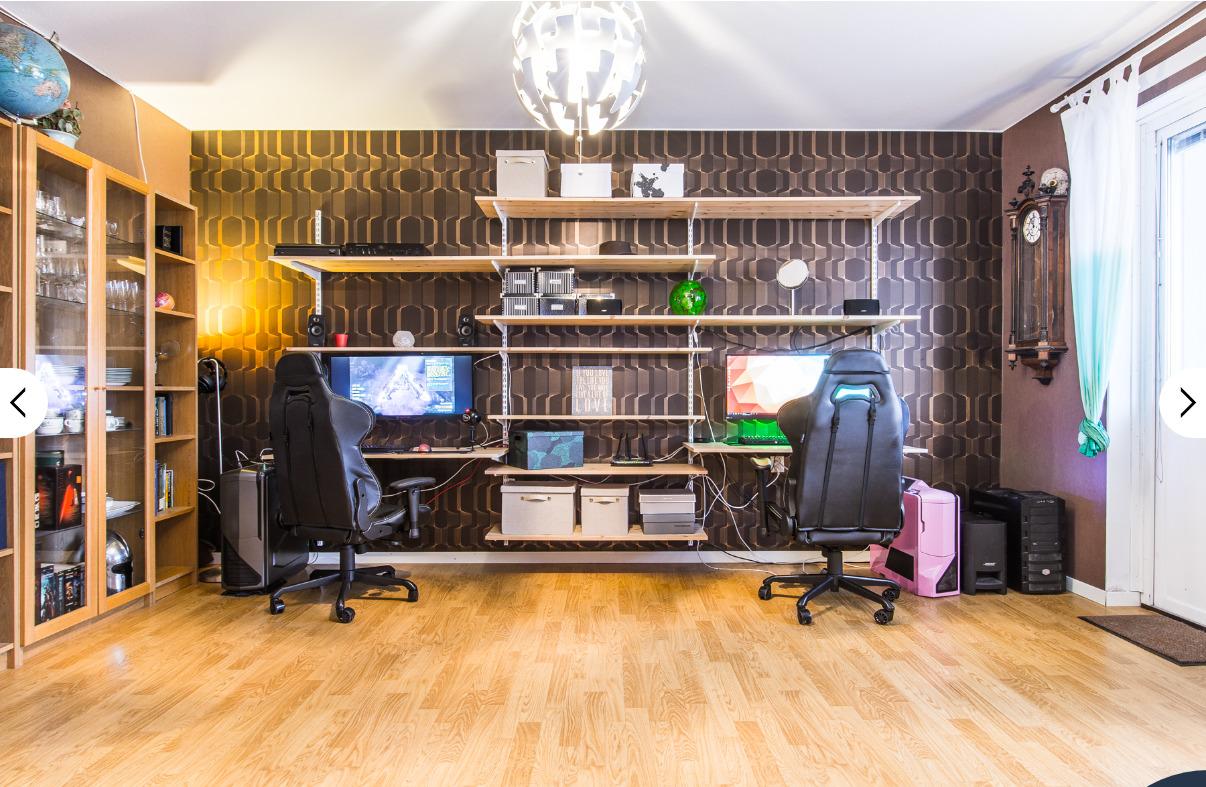 gamerlya lägenhet boden