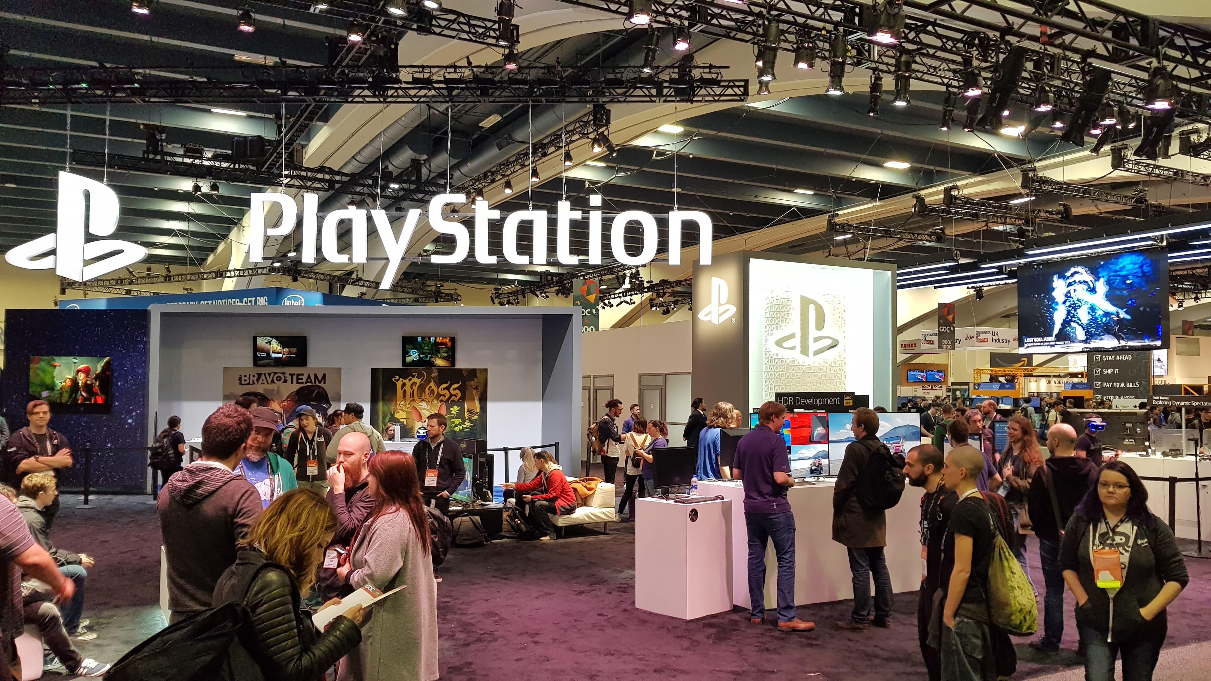 GDC 2018 playstation
