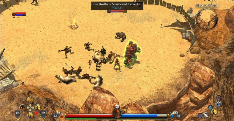 Titan Quest Playstation 4 thq nordic