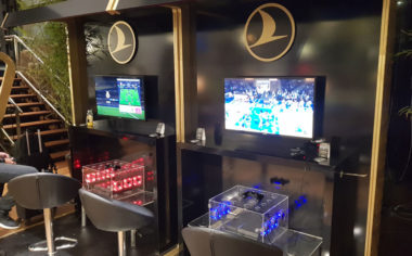 Turkish Airlines Lounge Istanbul Playstation 4