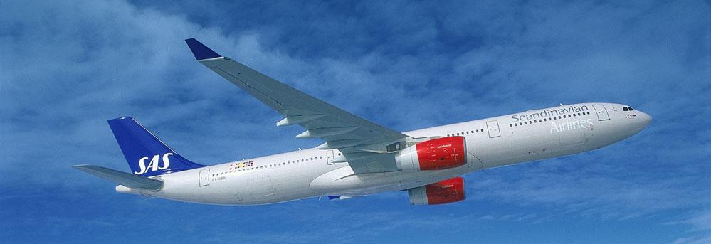 SAS flygplan wifi