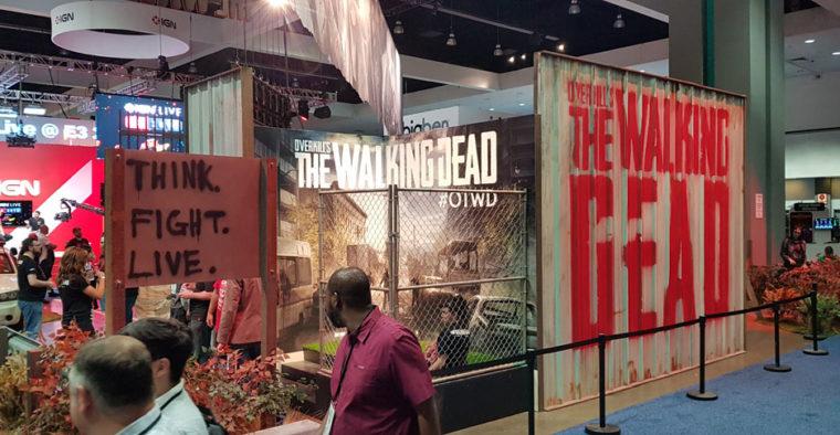 E3 2018 walking dead starbreeze