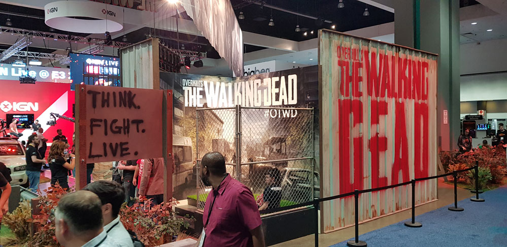 E3 2018 walking dead starbreeze