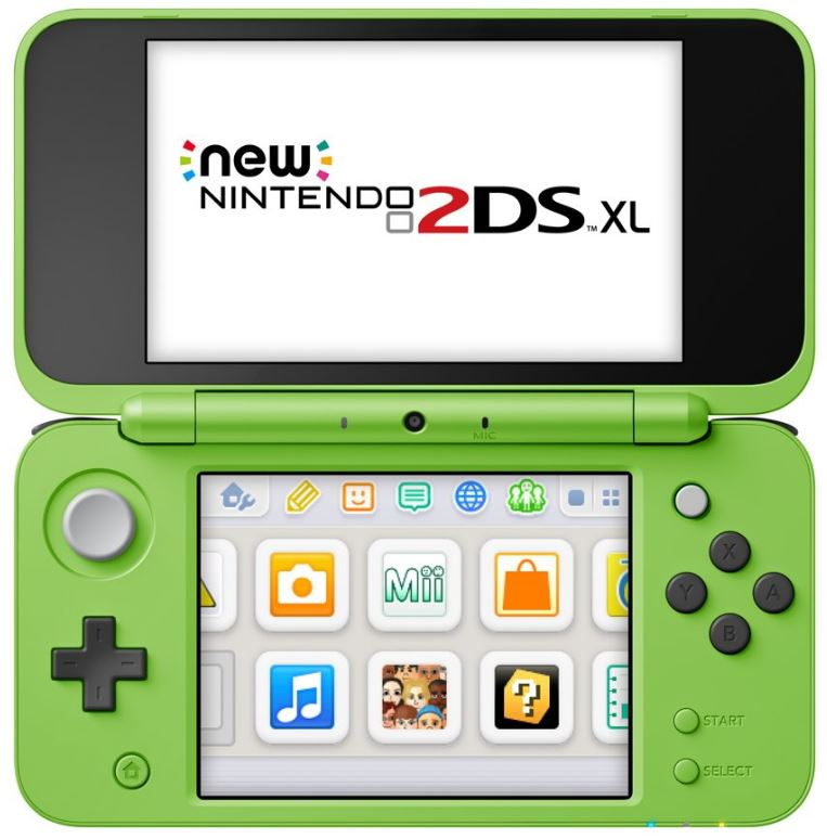 Nintendo 2DS XL Minecraft Creeper Edition