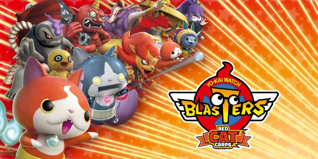 Yo-Kai Watchers Blasters Red Cat Corps