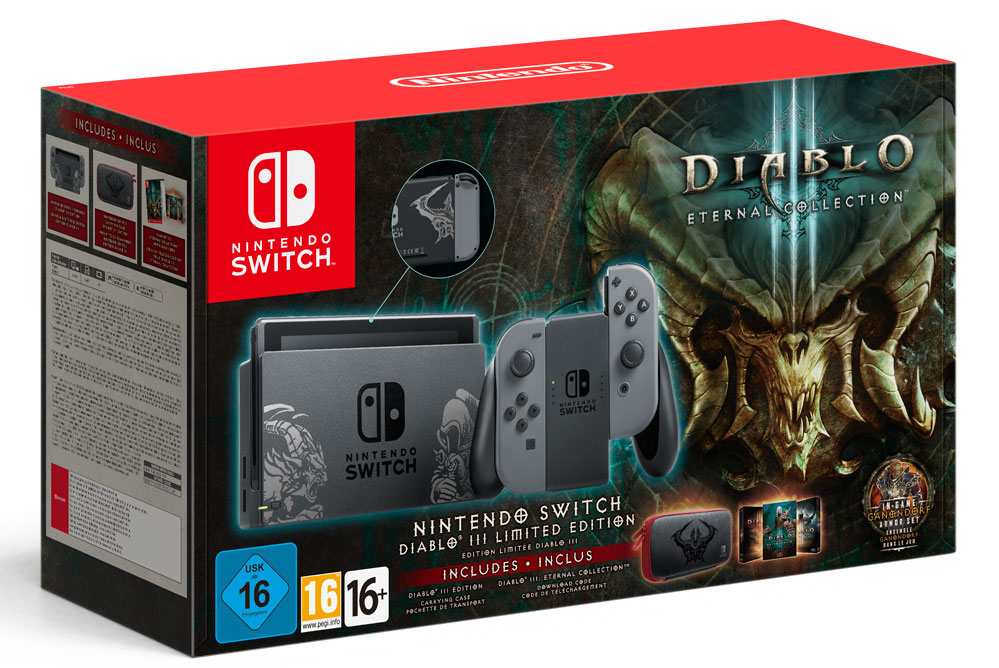 Nintendo switch diablo 3 bundle