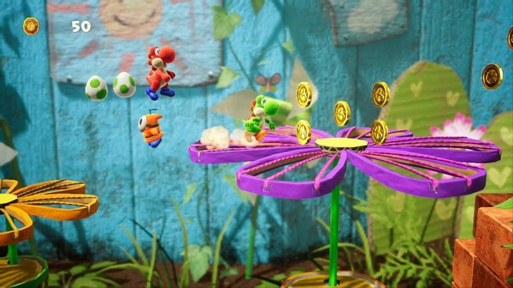 Yoshis crafted world
