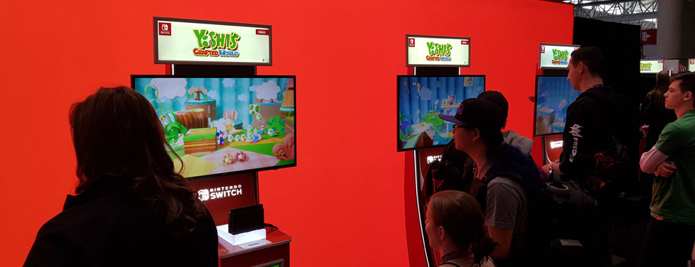 PAX East Yoshi's crafted world