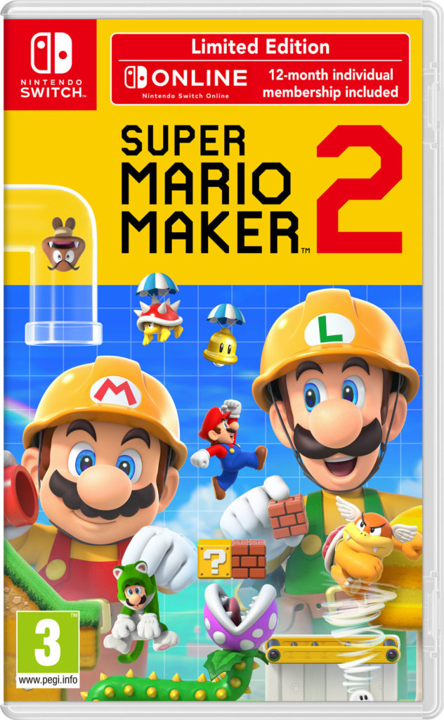 Super Mario Maker 2 omslag